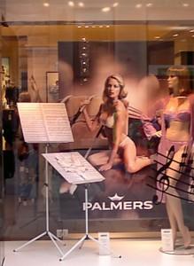 In Wien ist Musik ein Verkaufsschlager....