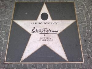 Gedenkstein für Toscanini in Wien