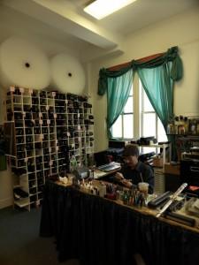 Verkaufsbereich des New York Flutecenter