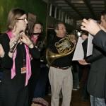 Pink Flutes, Teilnehmer des Wettbewerbs beim Spontankonzert