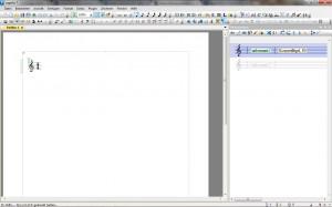 Screenshot Startbildschirm Capella 7